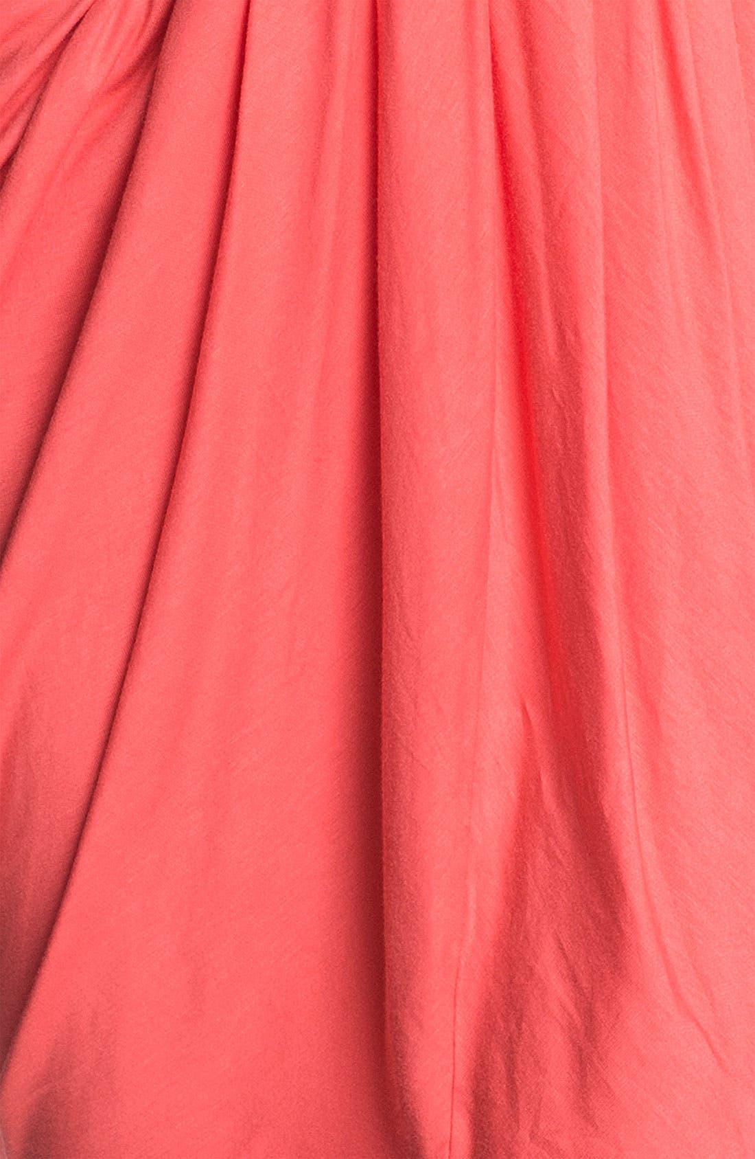 ,                             Faux Wrap Pleated Dress,                             Alternate thumbnail 22, color,                             950