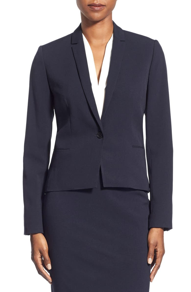 T TAHARI 'Carina' Suit Jacket, Main, color, 410