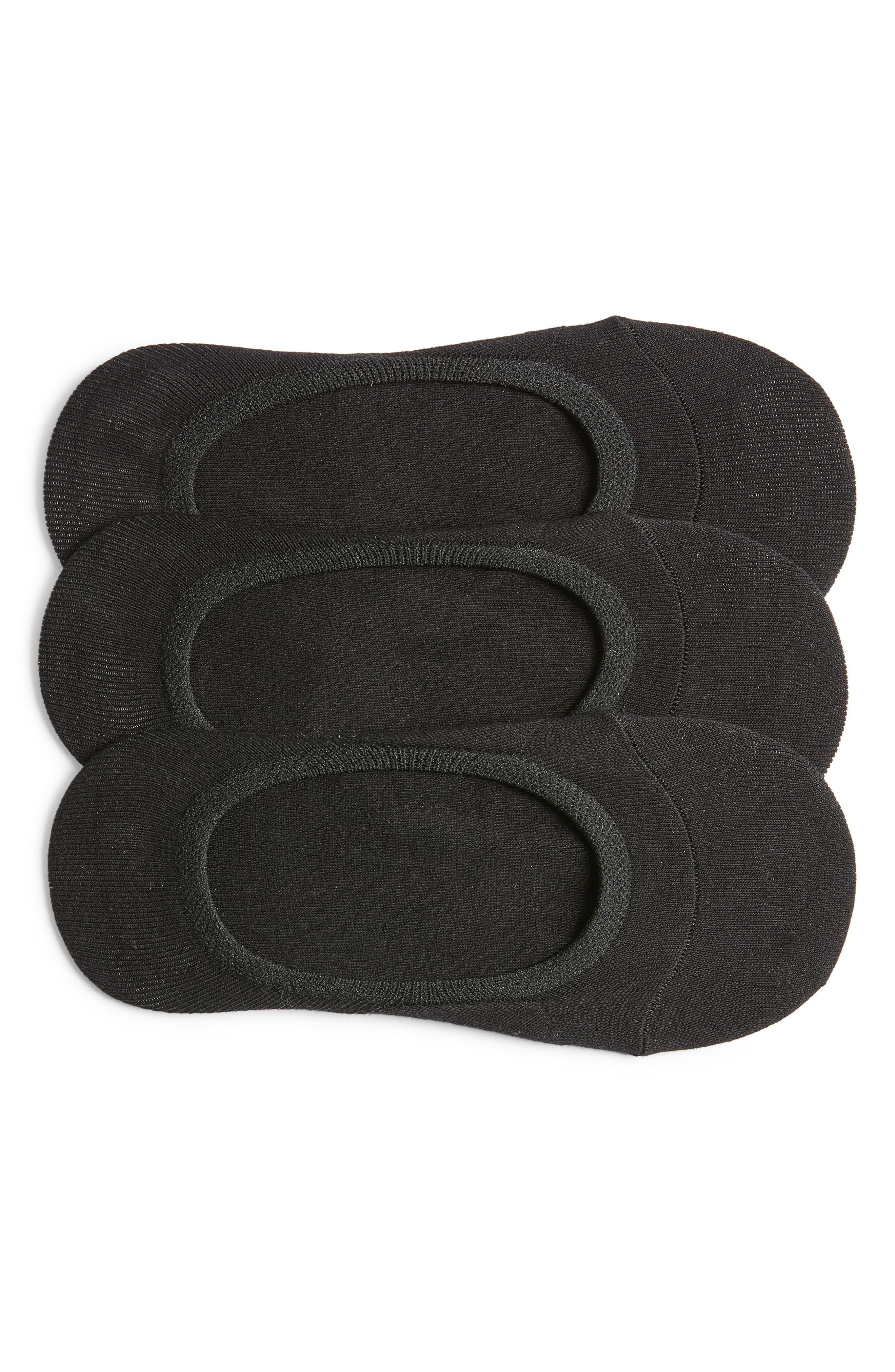 Image of Nordstrom No Show Socks - Pack of 3