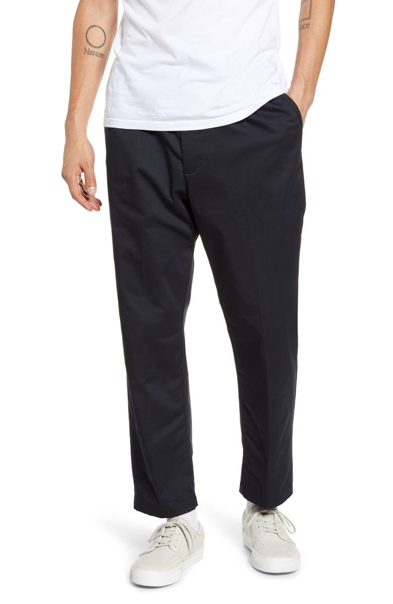 NIKE SB Dri-FIT Chino Pants, Main, color, BLACK