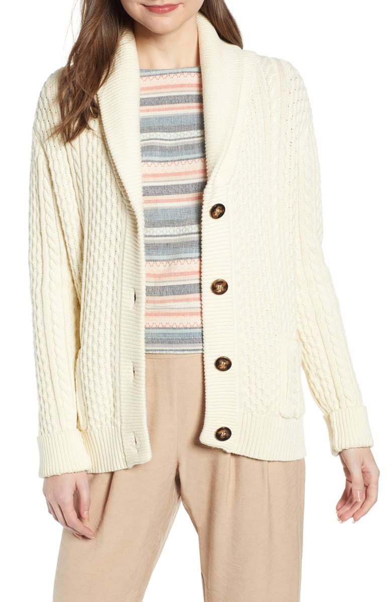 THE ODELLS Damsel x THE ODELLS Fisherman Cardigan, Main, color, 250