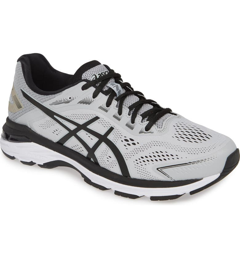 ASICS<SUP>®</SUP> GT-2000 7 Running Shoe, Main, color, MID GREY/ BLACK