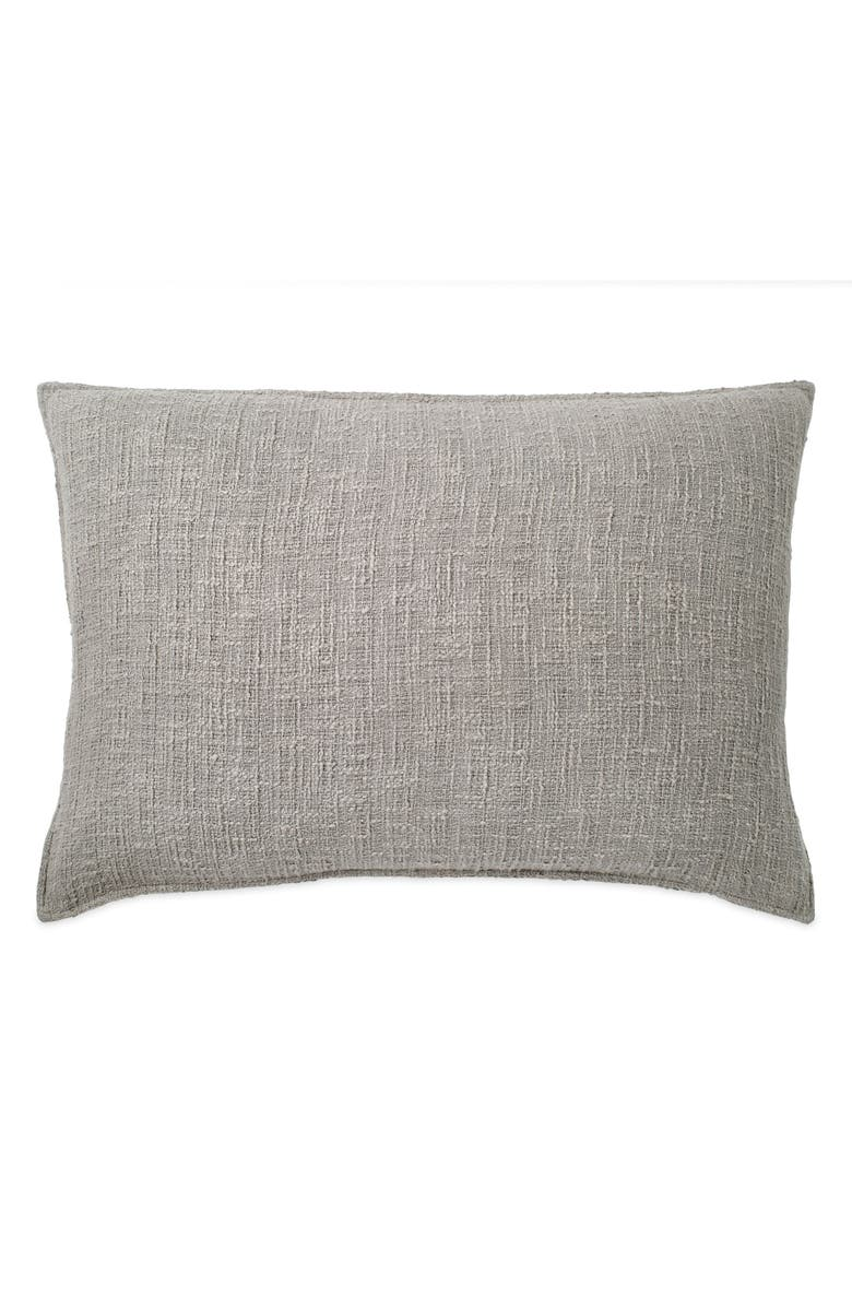 DKNY Pure Texture Sham, Main, color, GREY