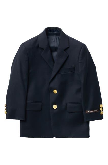 Image of Michael Kors Plain Wool Stretch Sport Coat