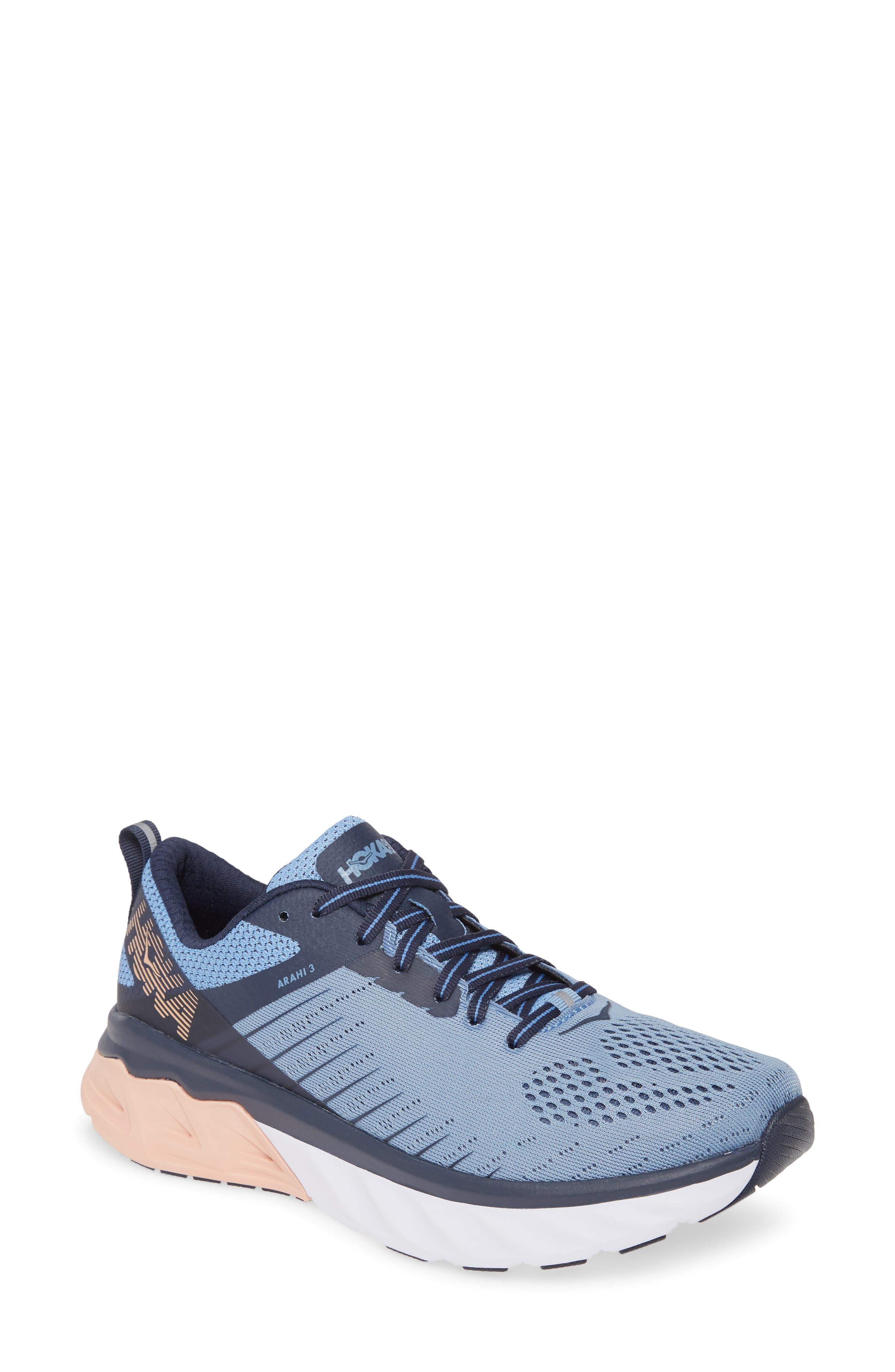 Hoka One One Arahi 3 Running Shoe- Blue