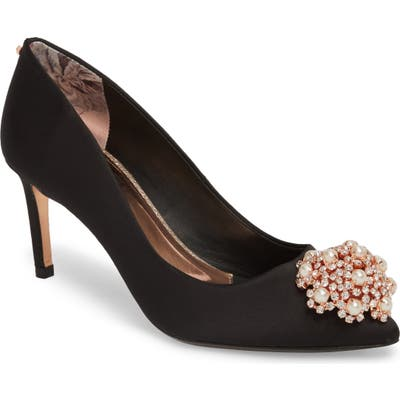 Ted Baker London Dahrlin Embellished Pump - Black