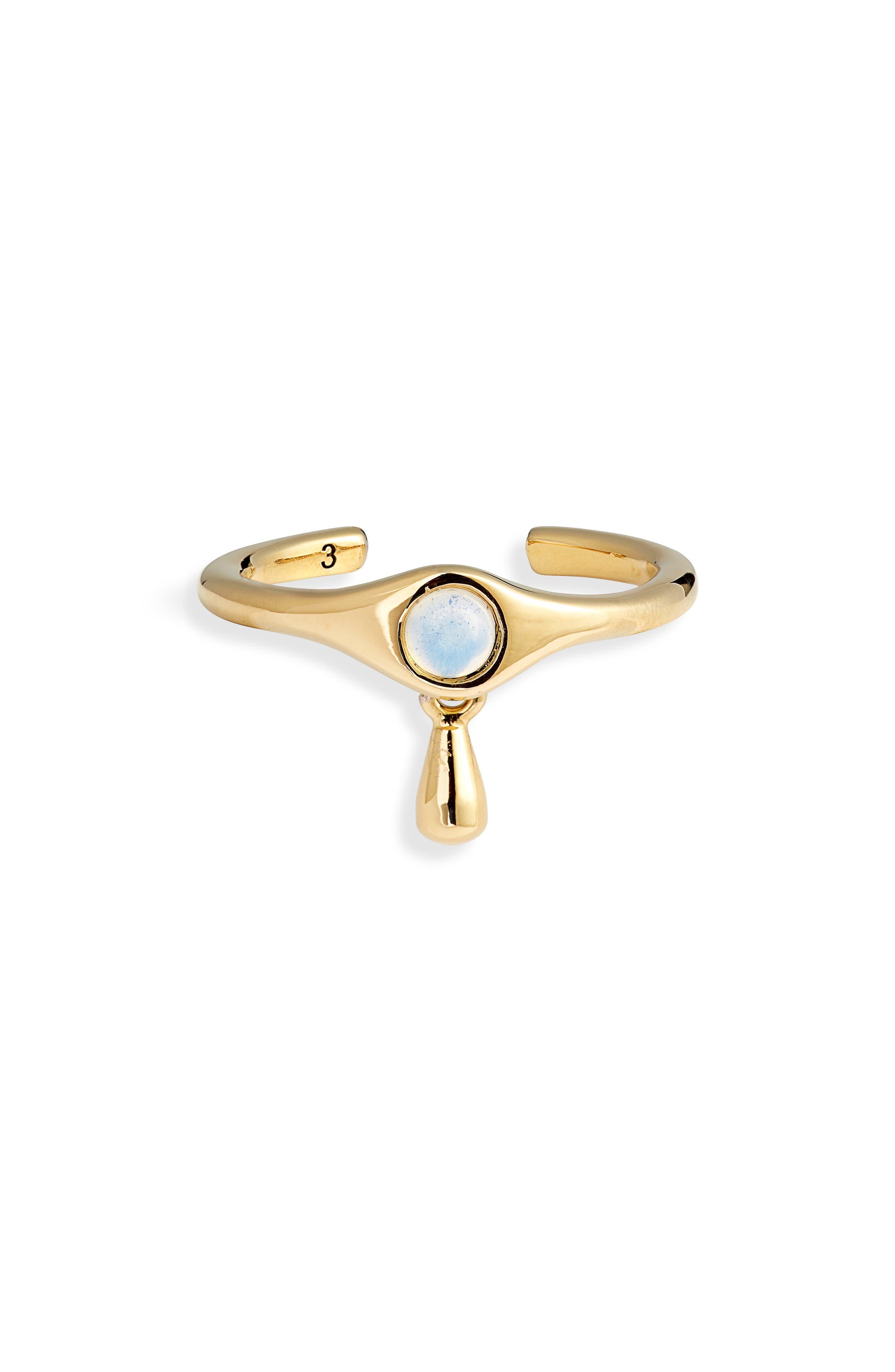 Denni Open Signet Ring