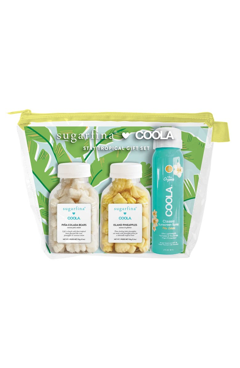 SUGARFINA x COOLA<sup>®</sup> Stay Tropical Gift Set, Main, color, 440