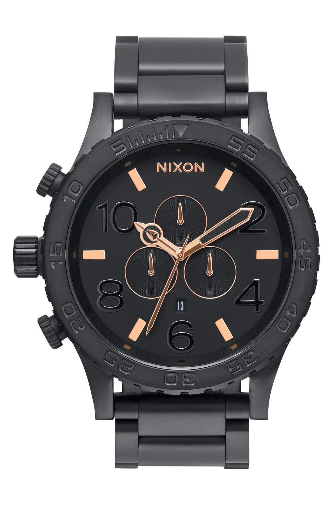 ,                             'The 51-30 Chrono' Watch, 51mm,                             Main thumbnail 39, color,                             005