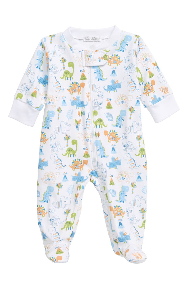 KISSY KISSY Dino Dash Footie, Main, color, 100