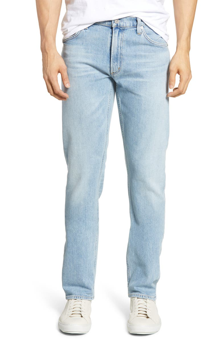 CITIZENS OF HUMANITY Bowery Slim Fit Jeans, Main, color, FARGO LT INDIGO