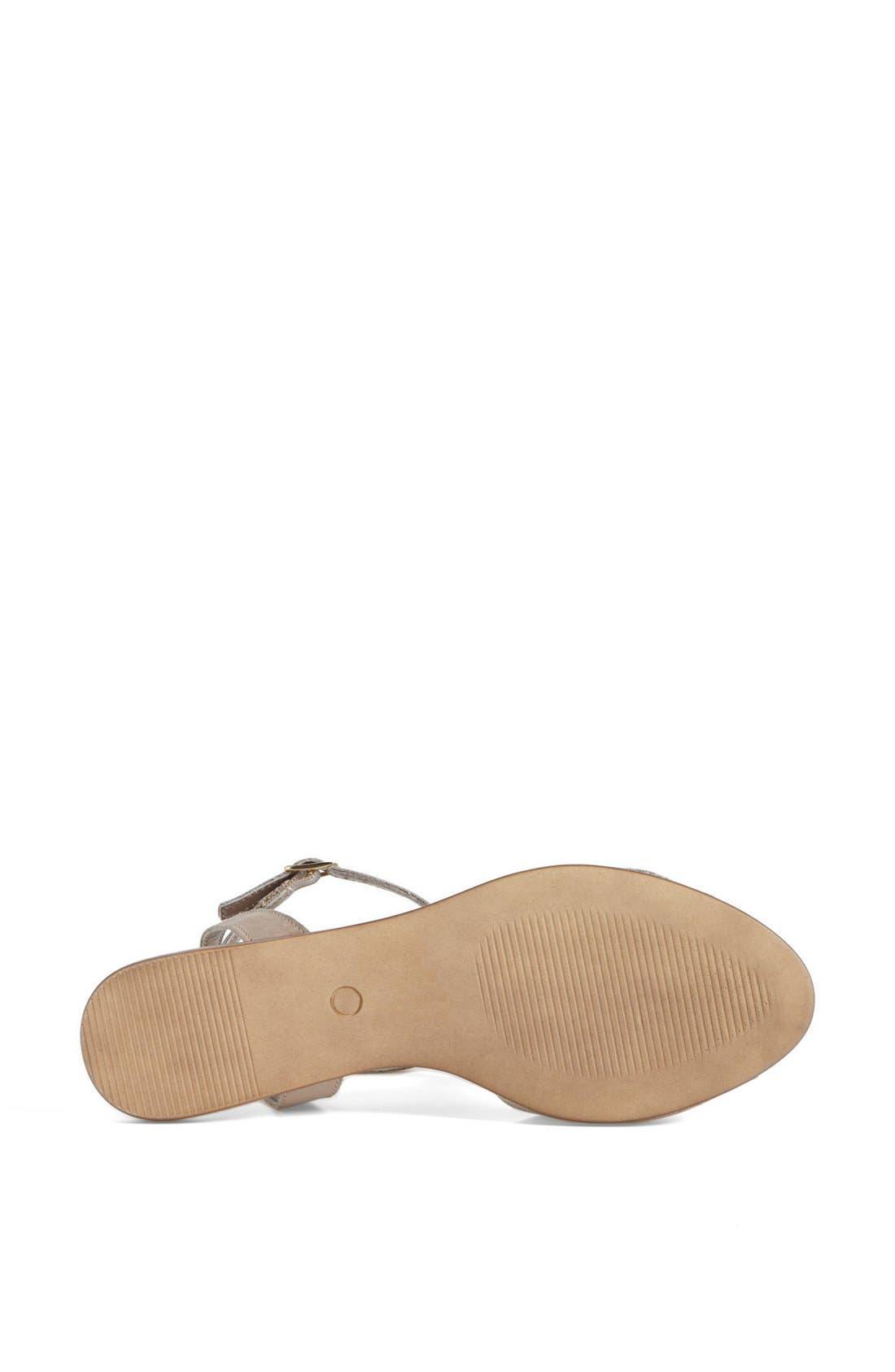 ,                             'Brand New' Ankle Strap Calf Hair Sandal,                             Alternate thumbnail 8, color,                             061
