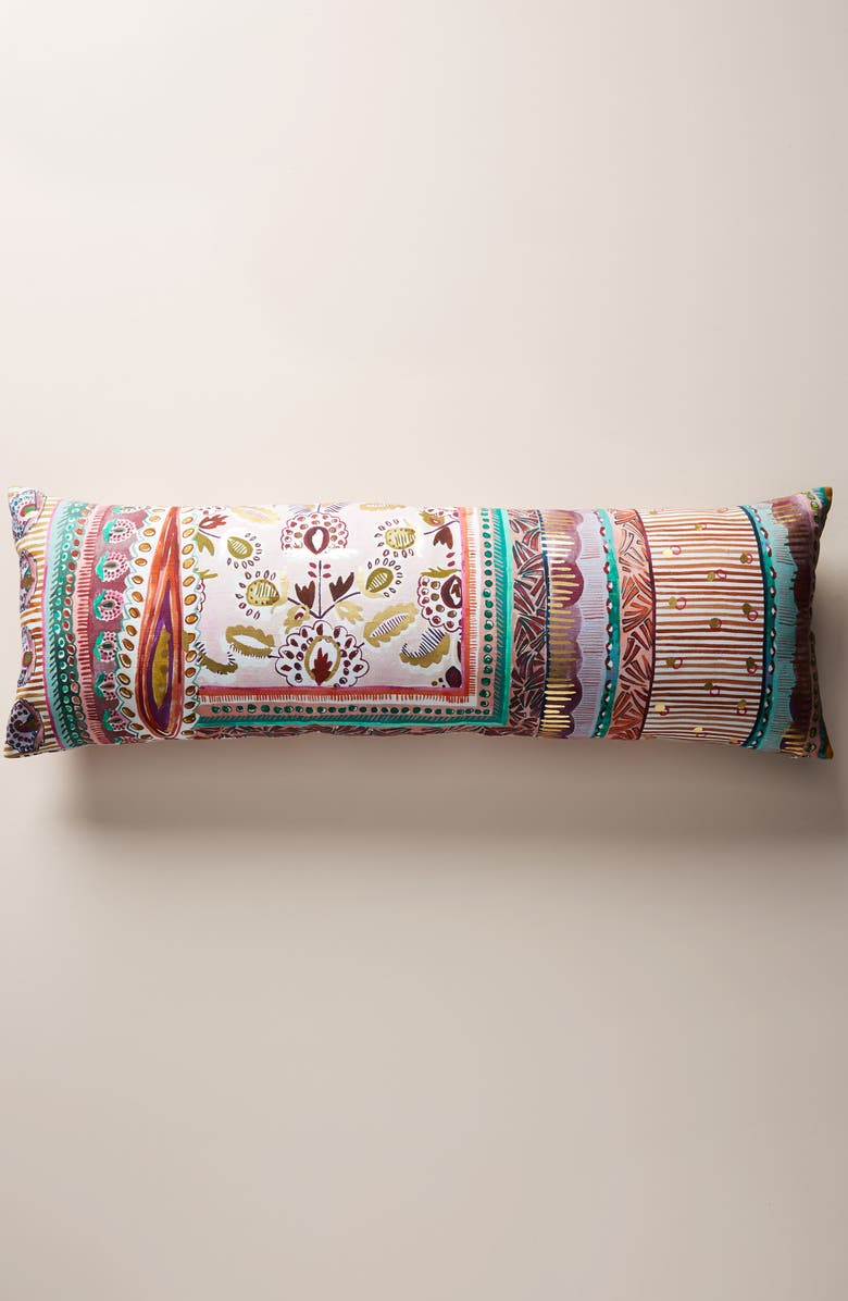 ANTHROPOLOGIE Sunder Accent Pillow, Main, color, 650