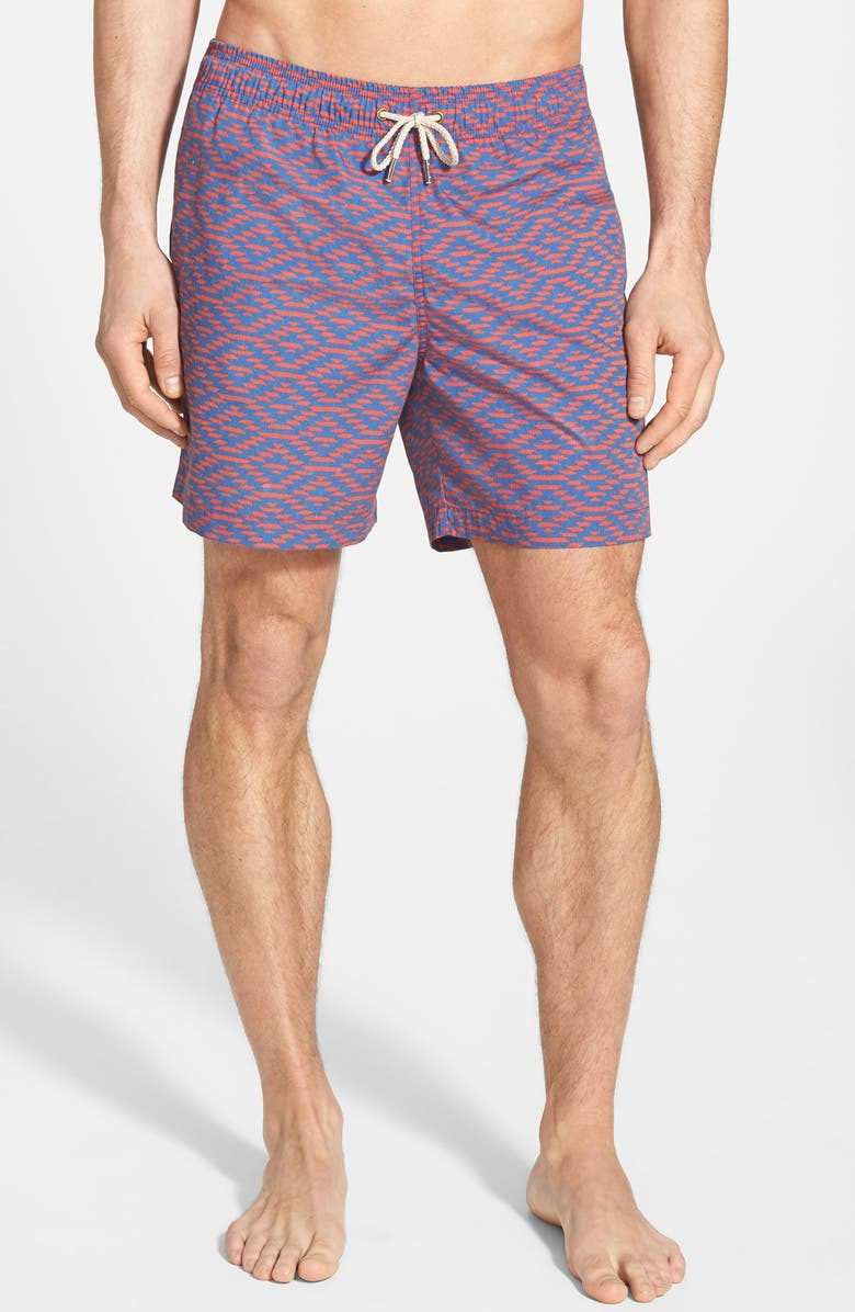 28512ee3db5b3 Faherty 'Beacon' DWR Swim Trunks | Nordstrom