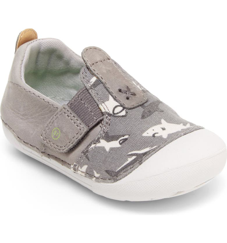 STRIDE RITE Soft Motion<sup>™</sup> Atlas Sneaker, Main, color, GREY SHARK