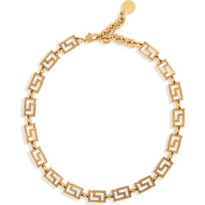 Versace First Line Chain Necklace