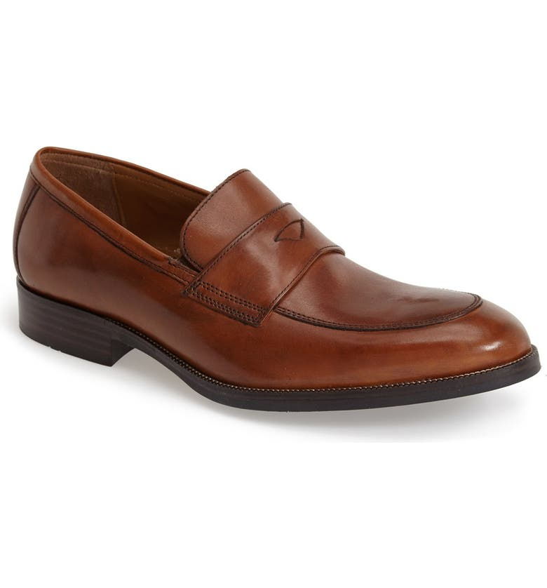 JOHNSTON & MURPHY 'Beckwith' Penny Loafer, Main, color, 240