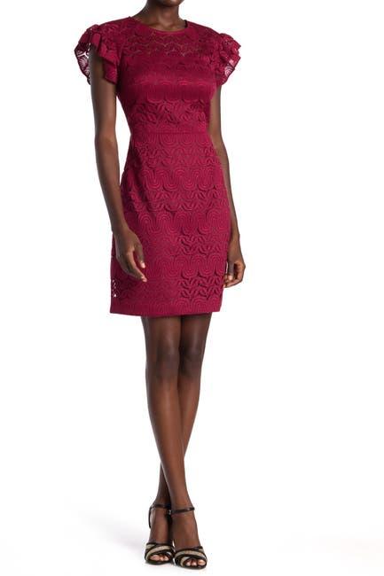 Image of trina Trina Turk Mai Tai Lace Sheath Dress