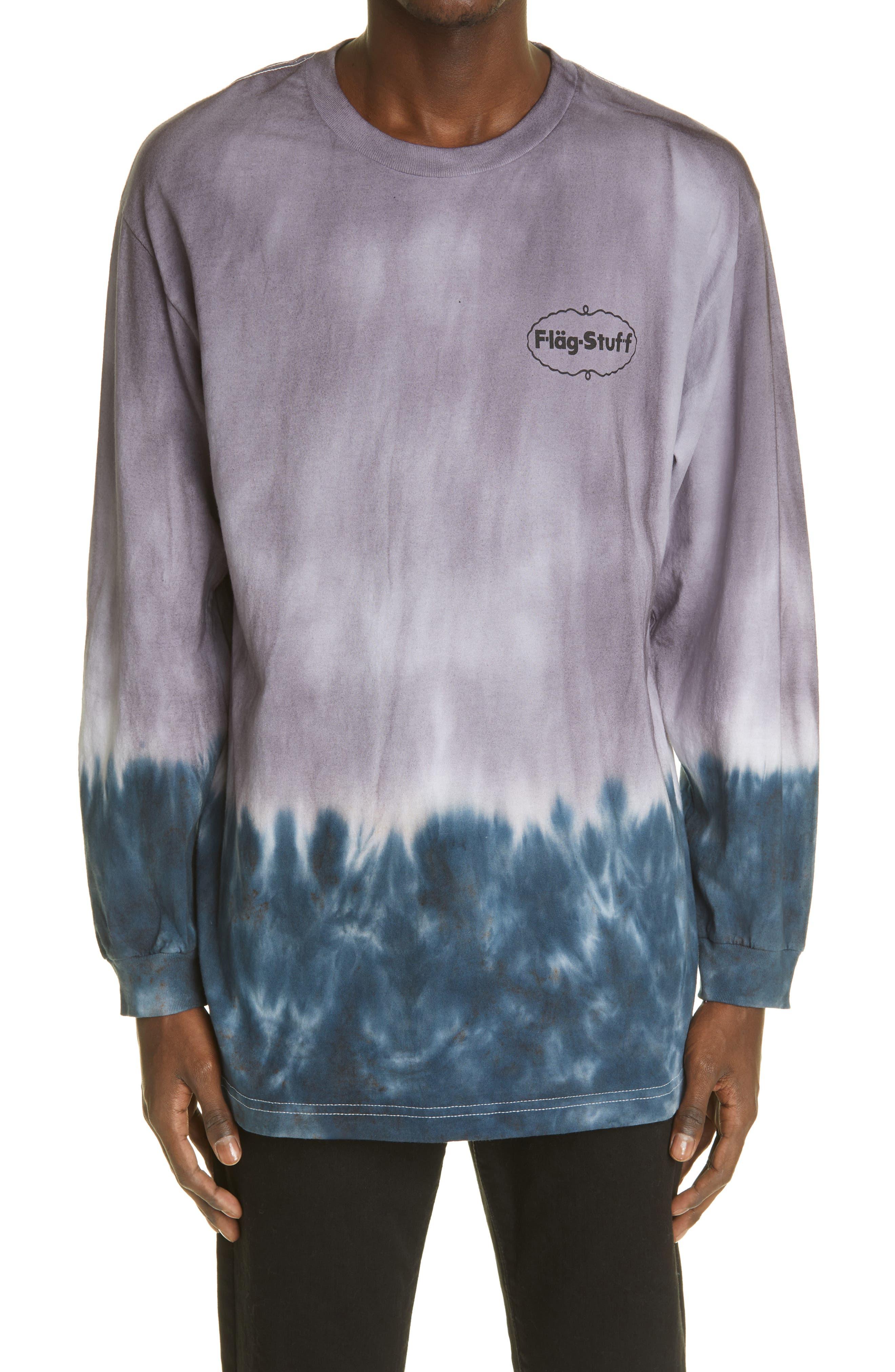 Tie Dye Logo Long Sleeve T-Shirt