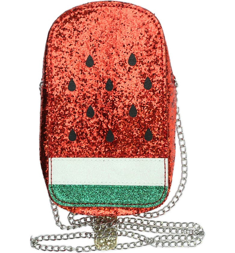 CAPELLI NEW YORK Watermelon Ice Pop Crossbody Bag, Main, color, 975