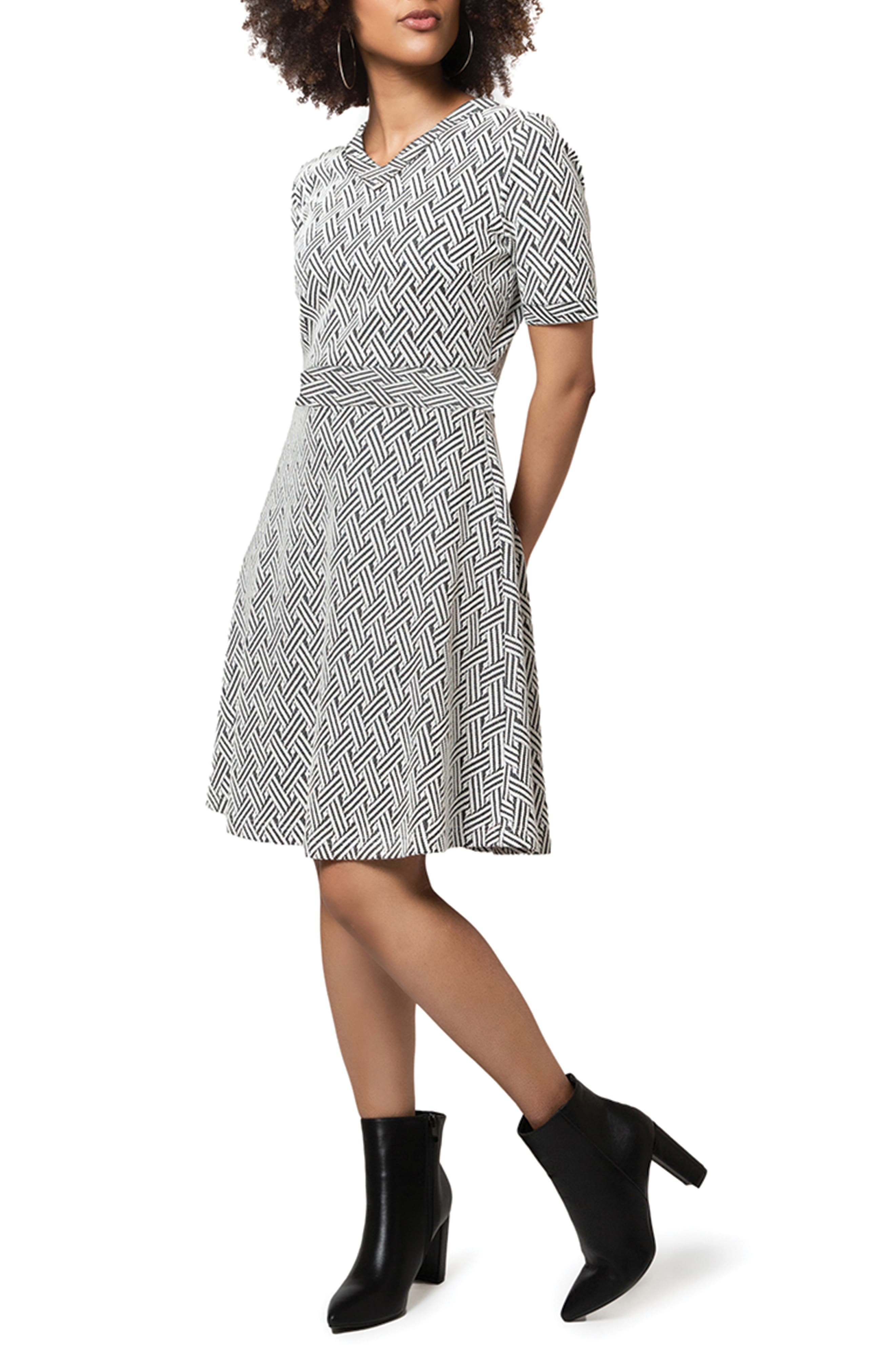 Lindsey A-Line Sweater Dress