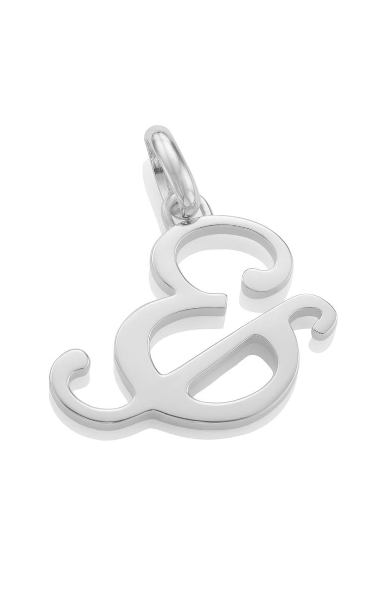 MONICA VINADER Alphabet Pendant Charm, Main, color, 040