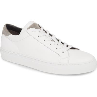To Boot New York Knox Low Top Sneaker, White