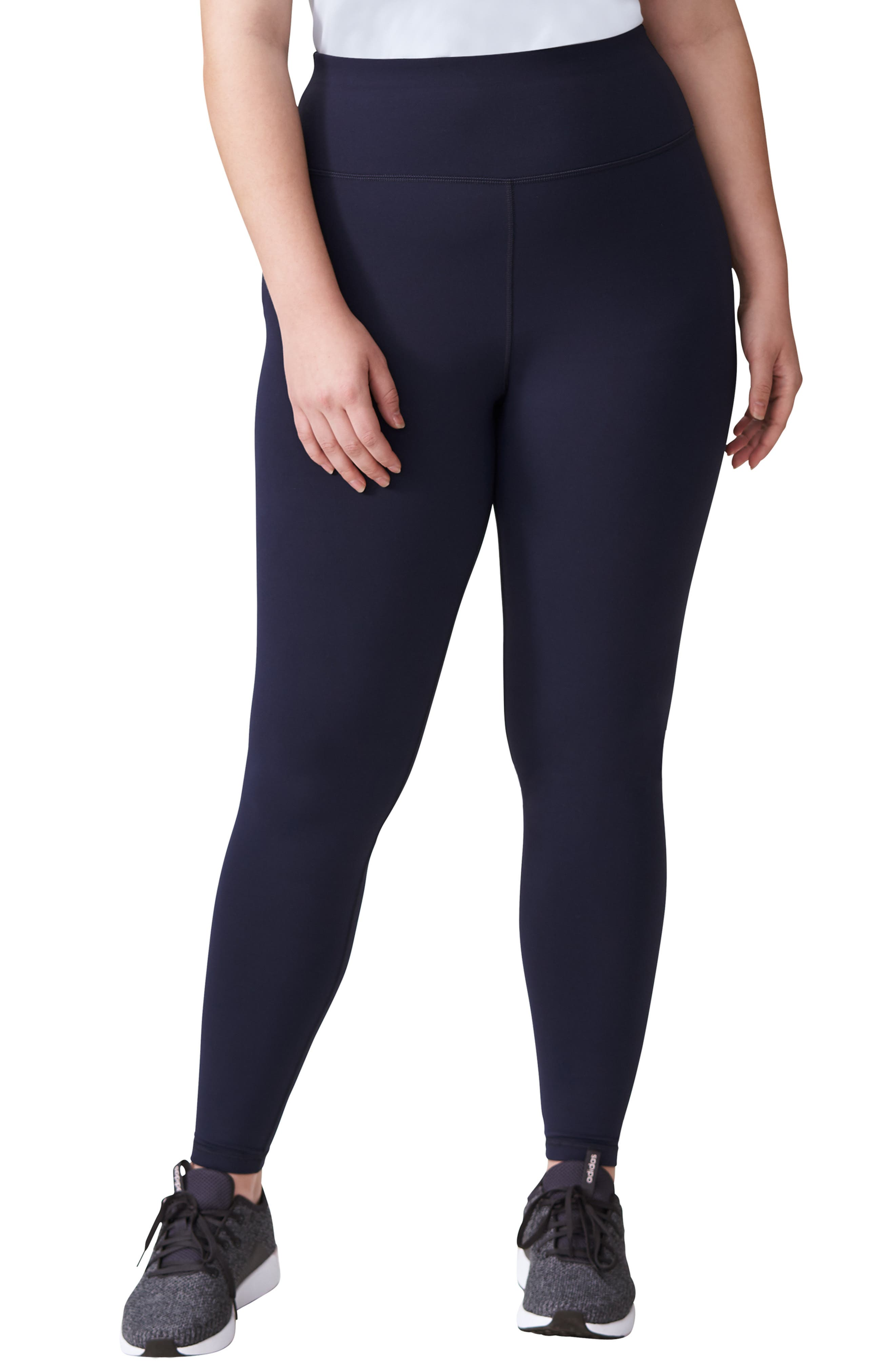 Plus Size Universal Standard Core Leggings, Size M (18W-20W) - Blue