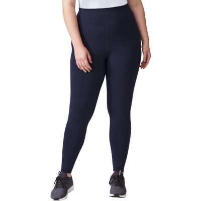 Plus Size Universal Standard Core Leggings, Size M (18W-20W) - Blue