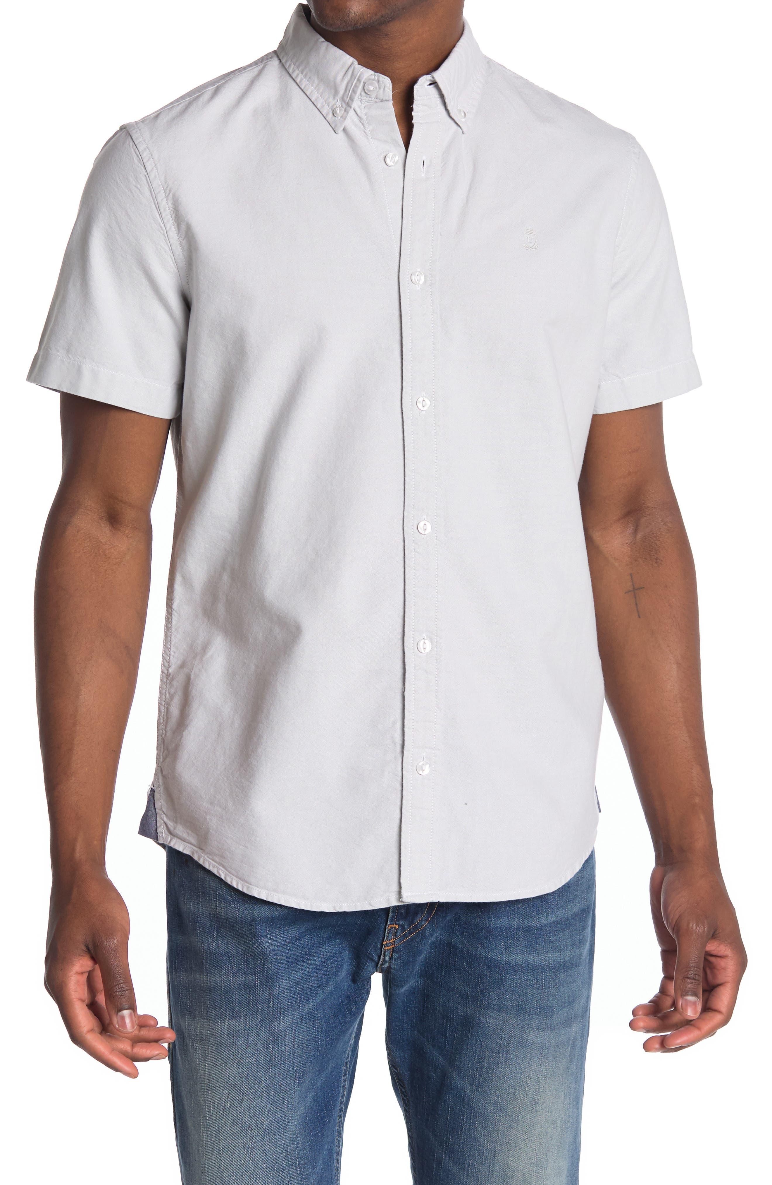 Image of 14th & Union Short Sleeve Oxford Shirt
