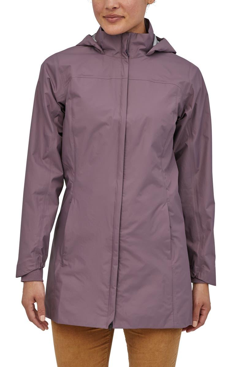 PATAGONIA Torrentshell Waterproof City Rain Coat, Main, color, HYSSOP PURPLE
