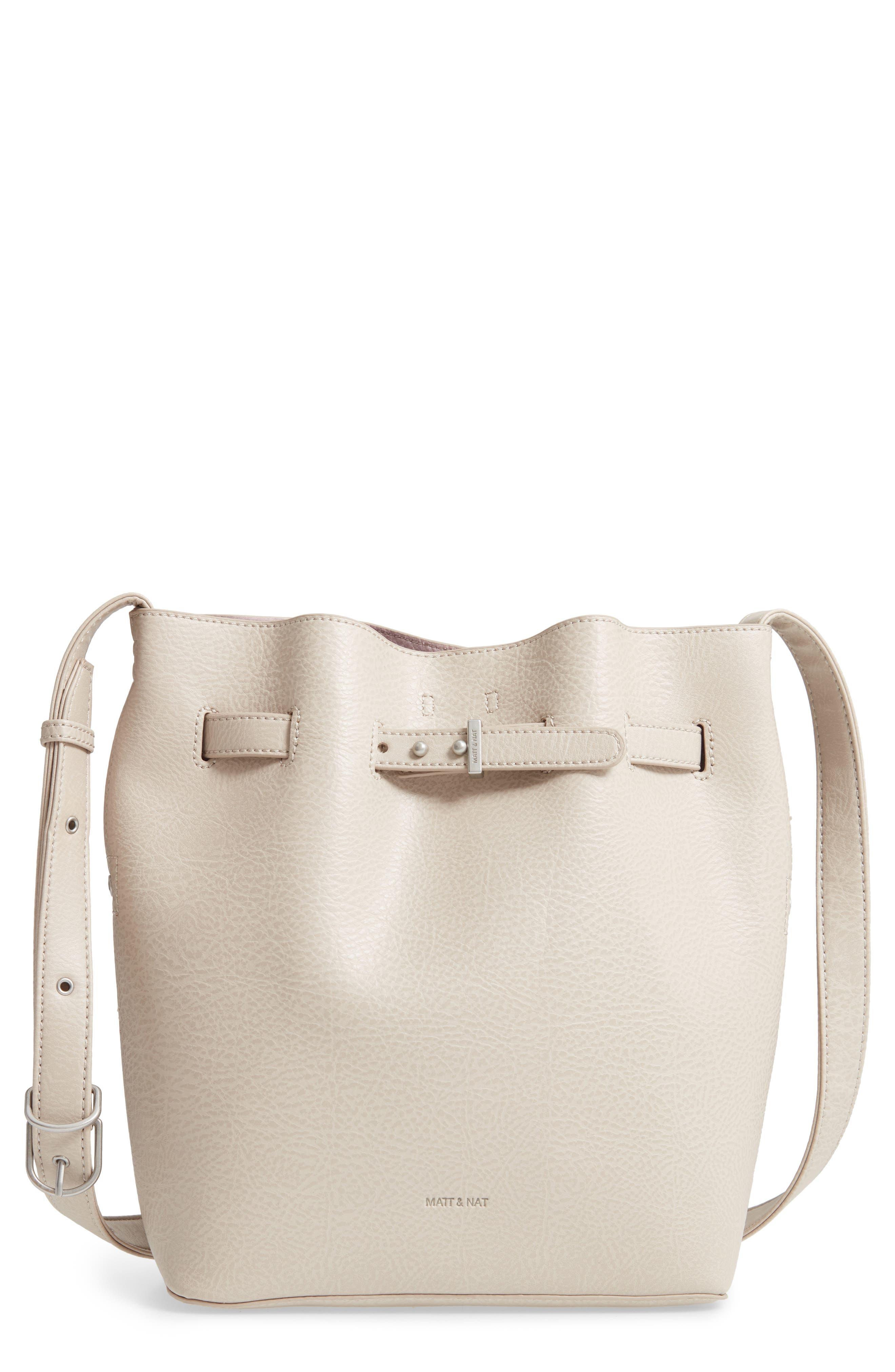 Matt & Nat Lexi Faux Leather Bucket Bag -