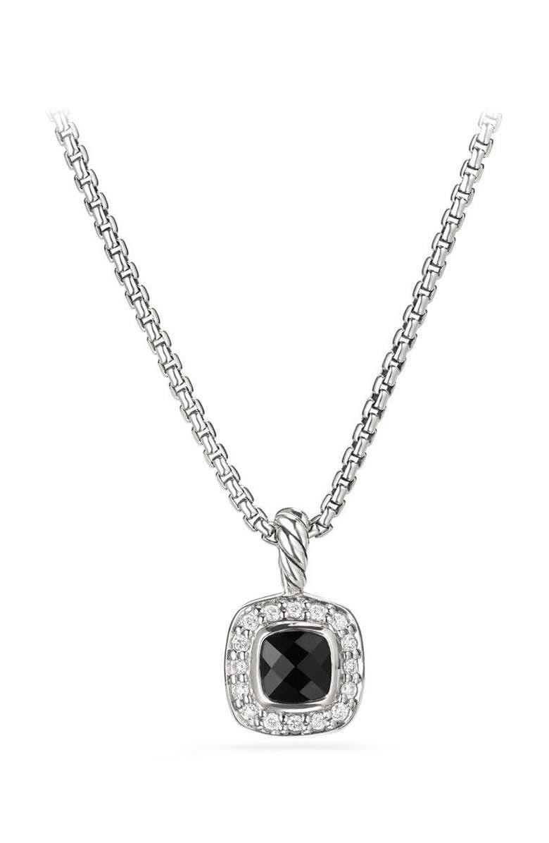 DAVID YURMAN Albion<sup>®</sup> Necklace with Diamonds, Main, color, BLACK ONYX
