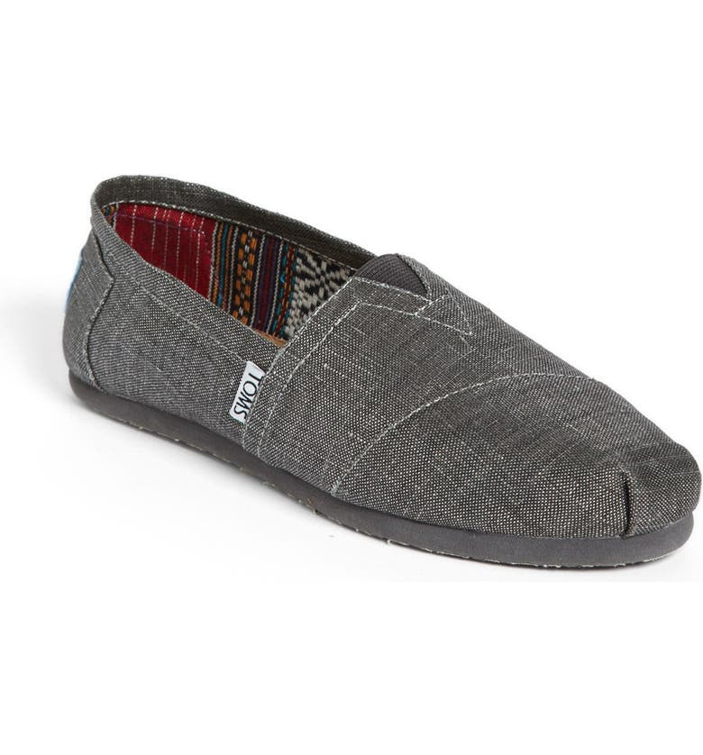 TOMS 'Classic' Metallic Slip-On, Main, color, 040