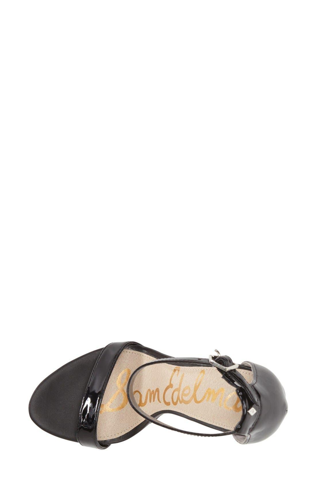 ,                             'Eleanor' Ankle Strap Sandal,                             Alternate thumbnail 28, color,                             005