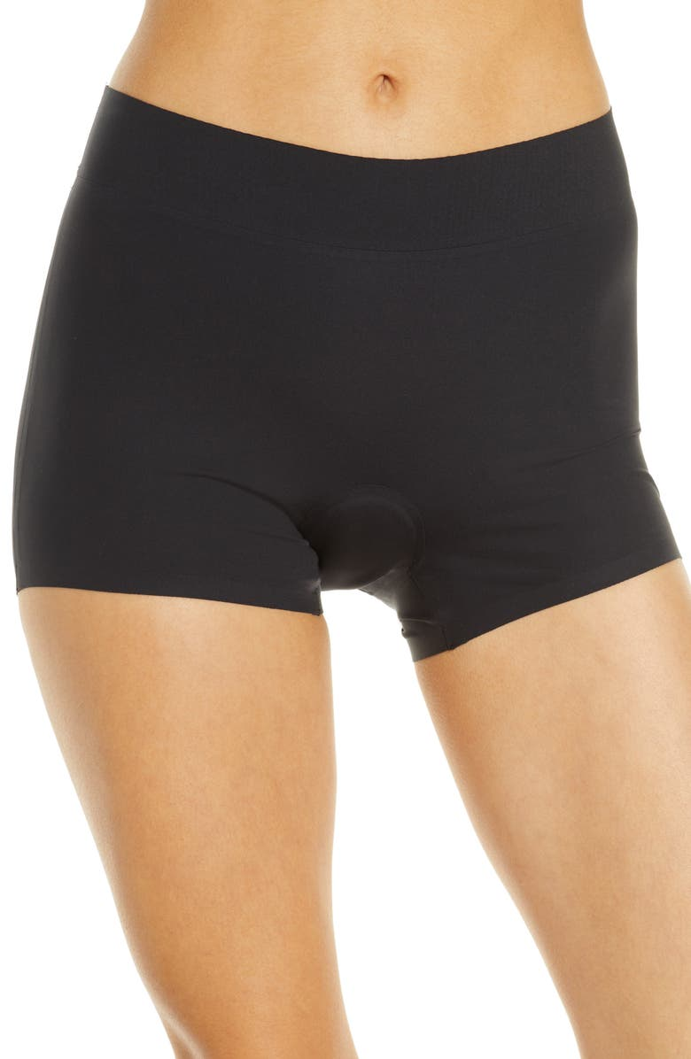 KNIX The Dream Leakproof Boyshorts, Main, color, BLACK