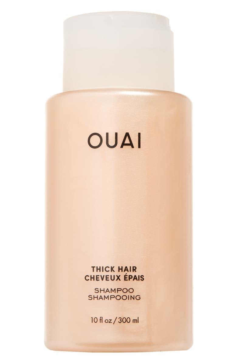 OUAI Thick Shampoo, Main, color, NO COLOR