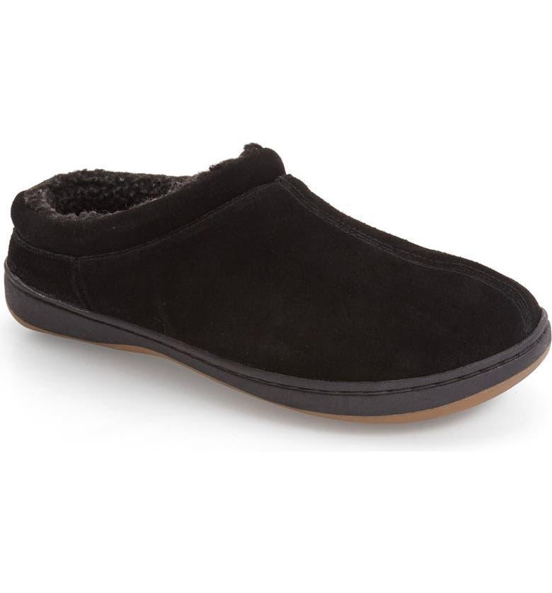 TEMPUR-PEDIC<SUP>®</SUP> Arlow Slipper, Main, color, BLACK