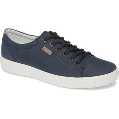 Ecco Soft Vii Sneaker, Blue