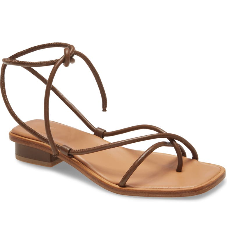 LOQ Ara Sandal, Main, color, MOUSSE LEATHER