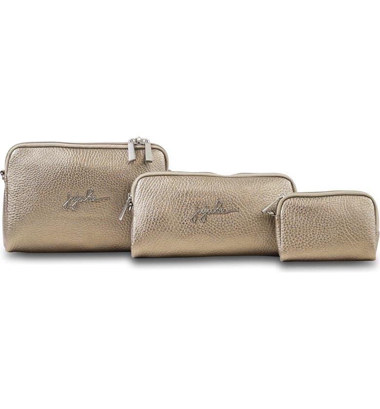 JU-JU-BE Be Organized Set of 3 Top Zip Cases, Main, color, LUMINAIRE