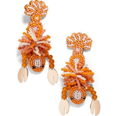 Baublebar Beaded Lobster Drop Earrings