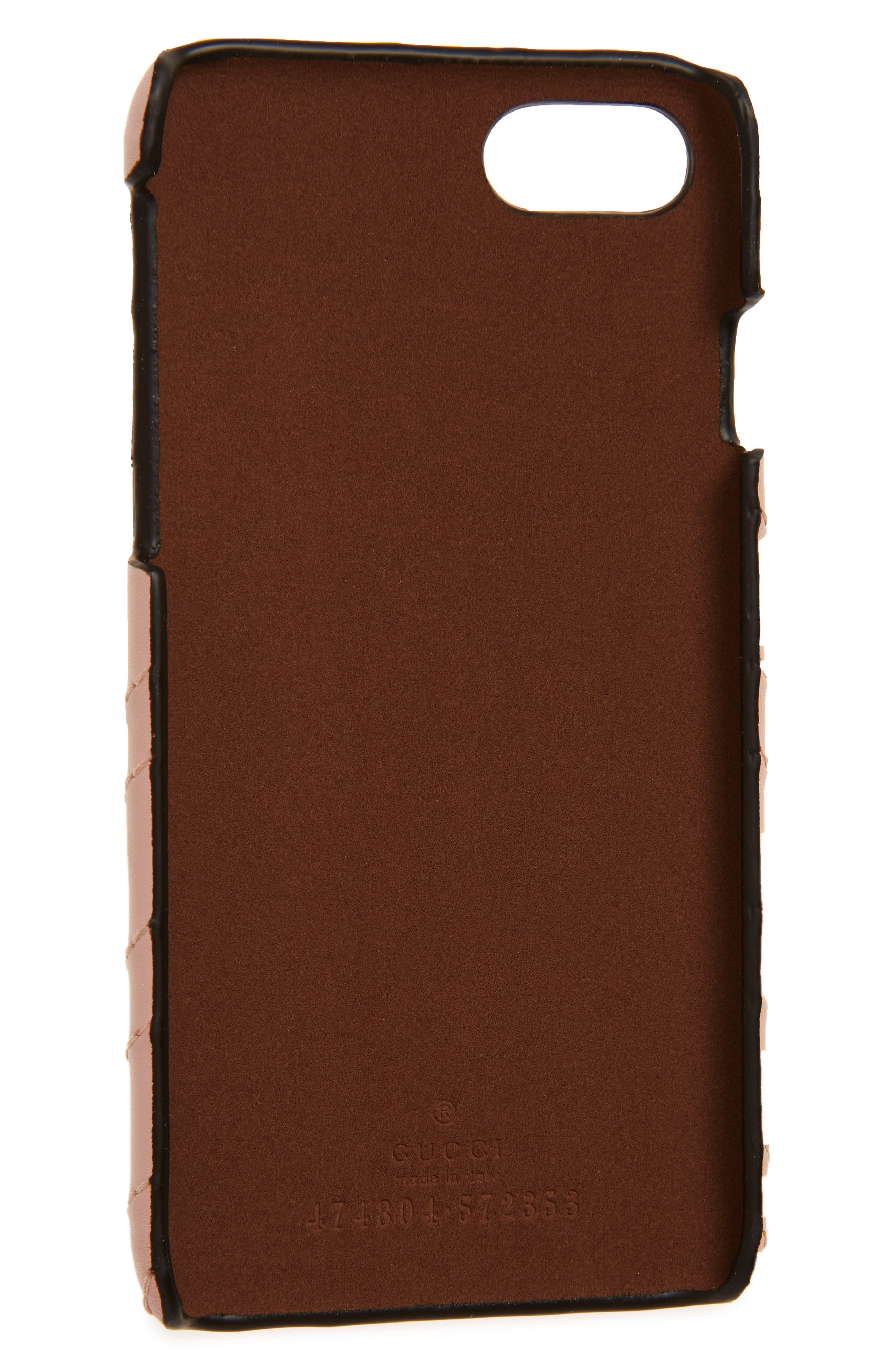 ,                             GG Marmont Leather iPhone 7 Case,                             Alternate thumbnail 6, color,                             650