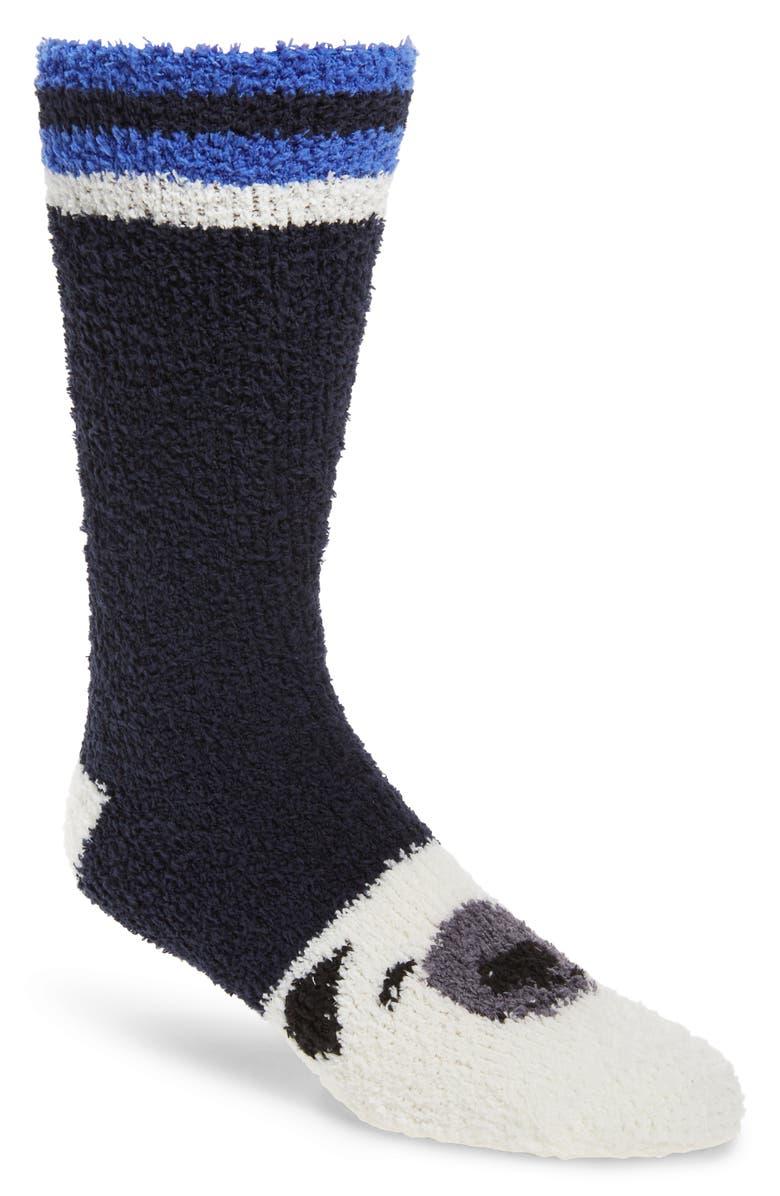 NORDSTROM MEN'S SHOP Plush Winter Butter Socks, Main, color, 410