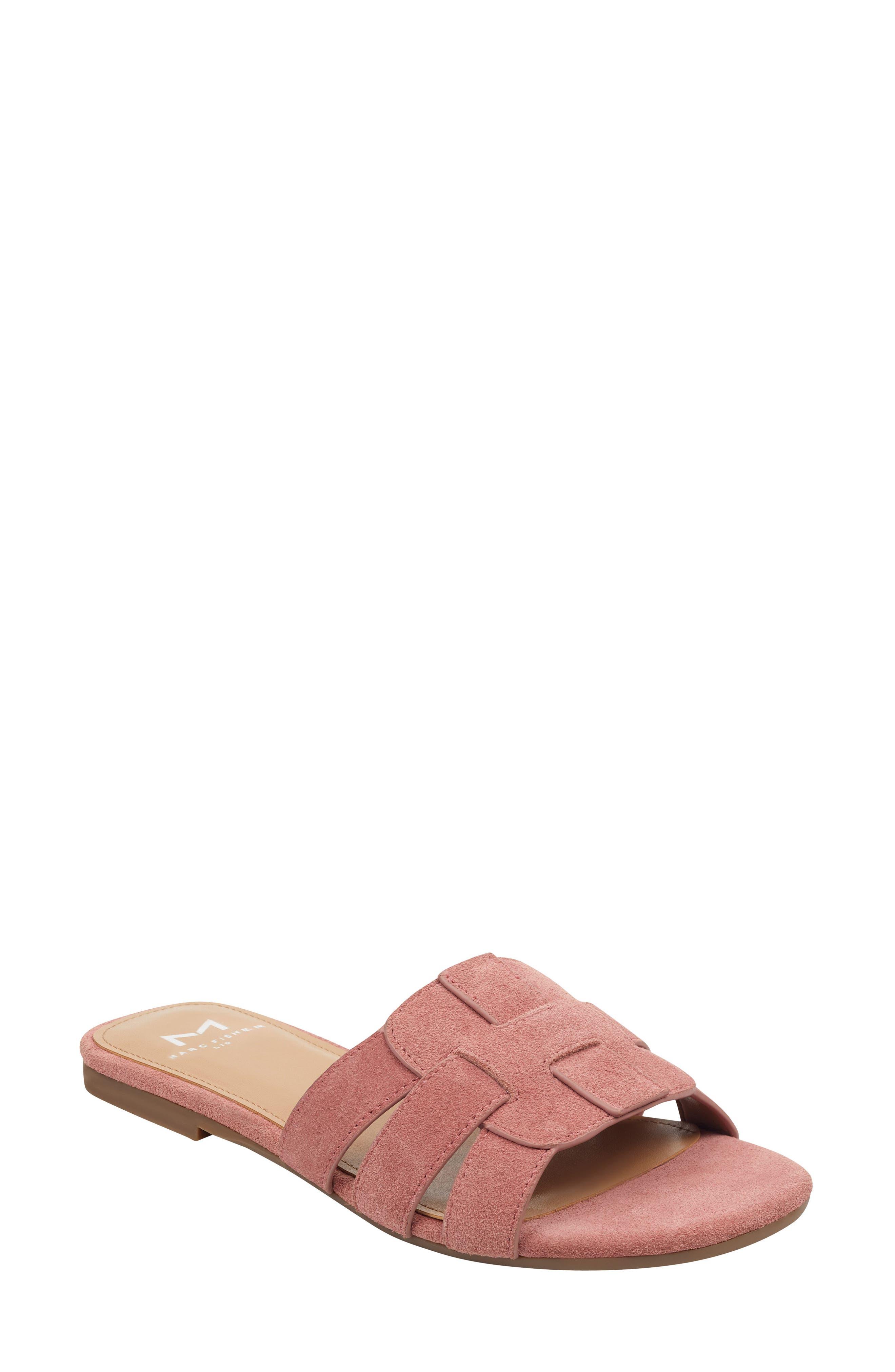 Marc Fisher Ltd Kayli Slide Sandal, Pink