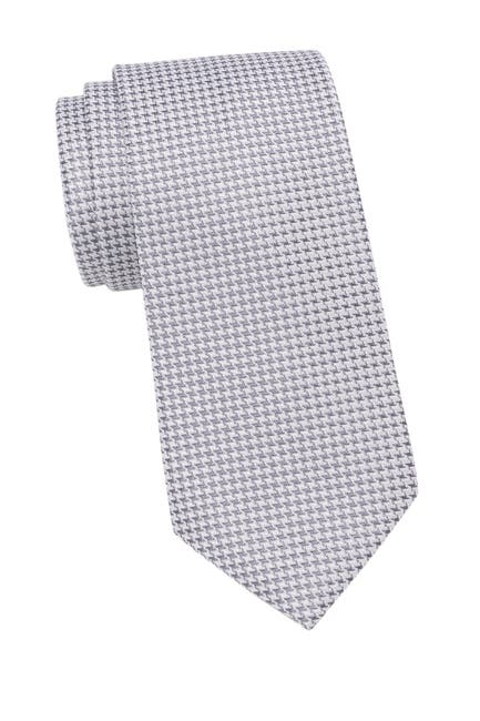 Image of Calvin Klein Indigo Houndstooth Tie