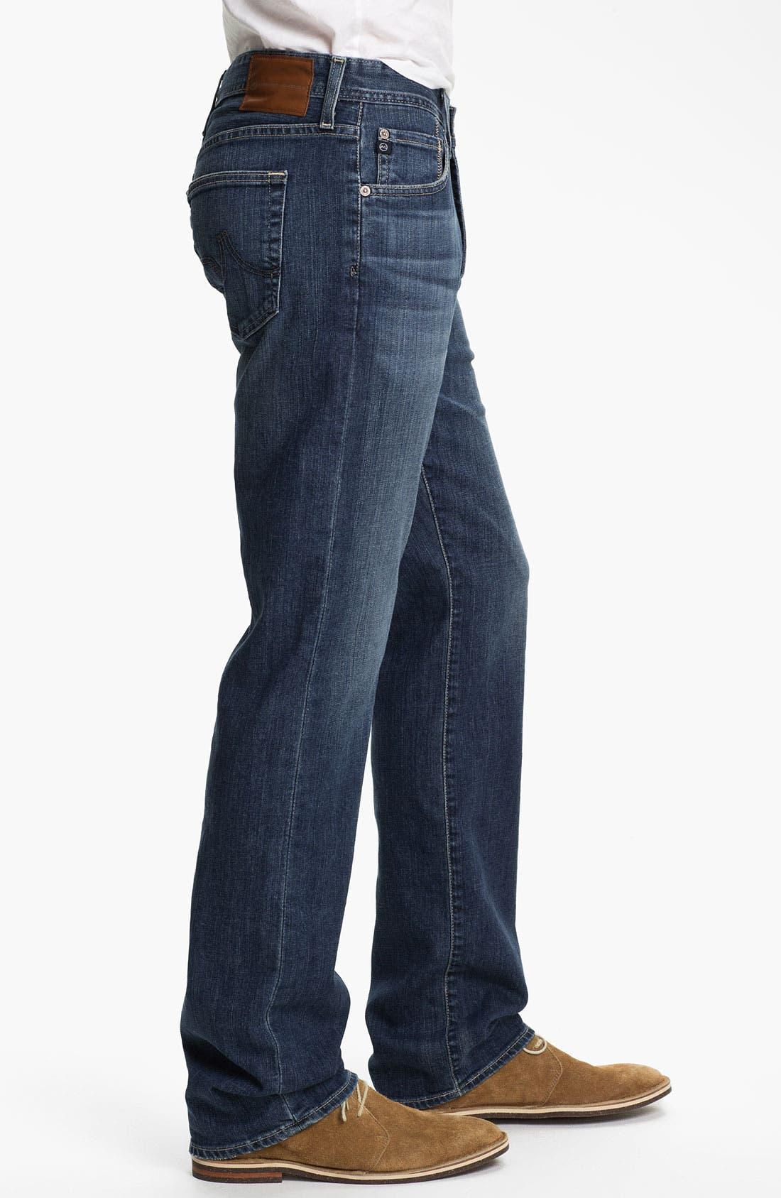 ,                             'Protégé' Straight Leg Jeans,                             Alternate thumbnail 34, color,                             428