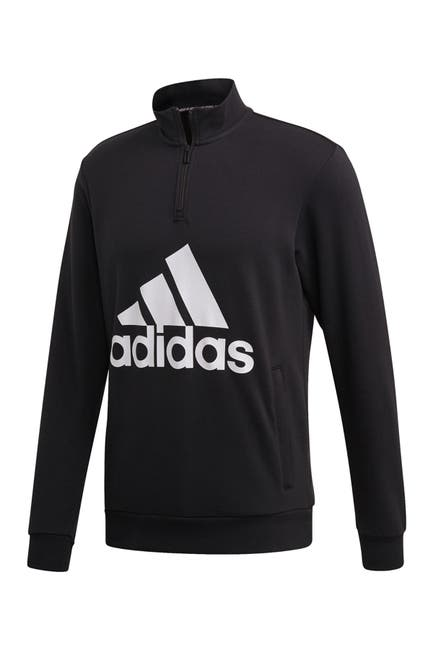 Image of adidas Must Have Badge of Sport 1/4 Zip Sweatshirt