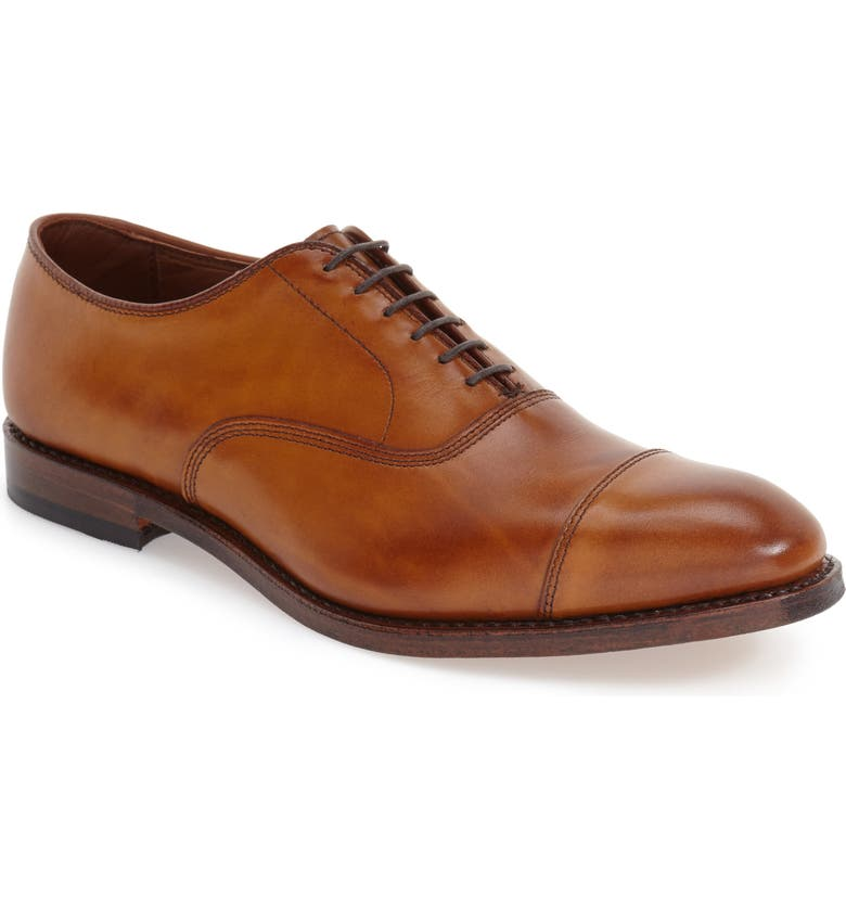ALLEN EDMONDS Park Avenue Oxford, Main, color, WALNUT