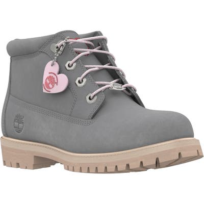 Timberland Love Collection 6-Inch Waterproof Chukka Boot, Grey